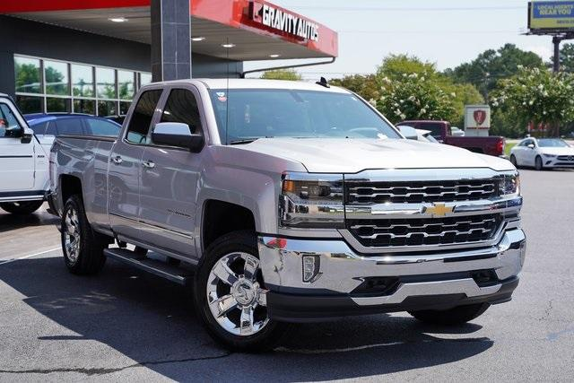 Used 2018 Chevrolet Silverado 1500 LTZ for sale $40,992 at Gravity Autos Roswell in Roswell GA 30076 2