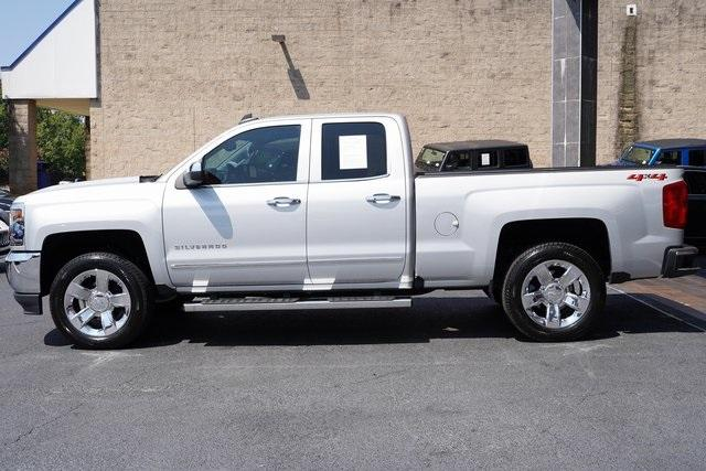 Used 2018 Chevrolet Silverado 1500 LTZ for sale $40,992 at Gravity Autos Roswell in Roswell GA 30076 4