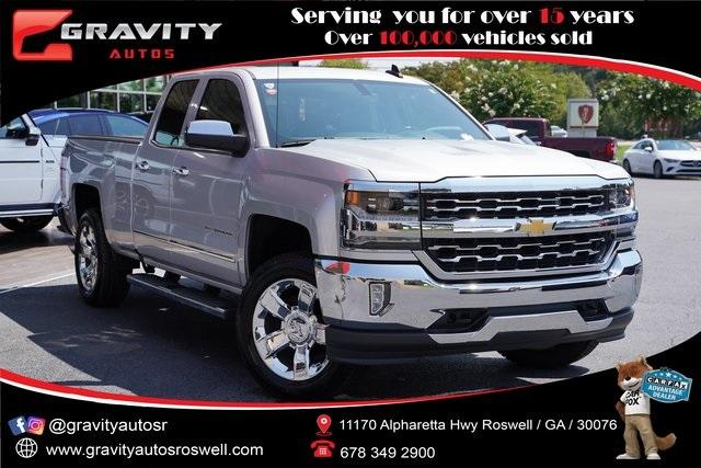 Used 2018 Chevrolet Silverado 1500 LTZ for sale $40,992 at Gravity Autos Roswell in Roswell GA 30076 1
