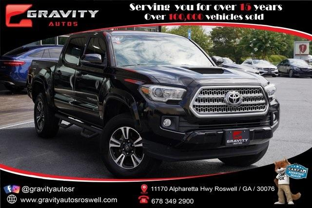Used 2016 Toyota Tacoma TRD Sport for sale $30,992 at Gravity Autos Roswell in Roswell GA 30076 1