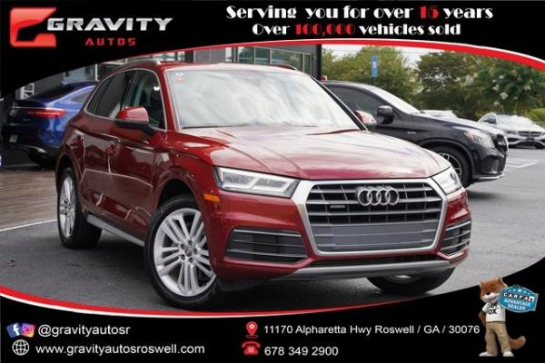Used 2018 Audi Q5 2.0T for sale $34,996 at Gravity Autos Roswell in Roswell GA