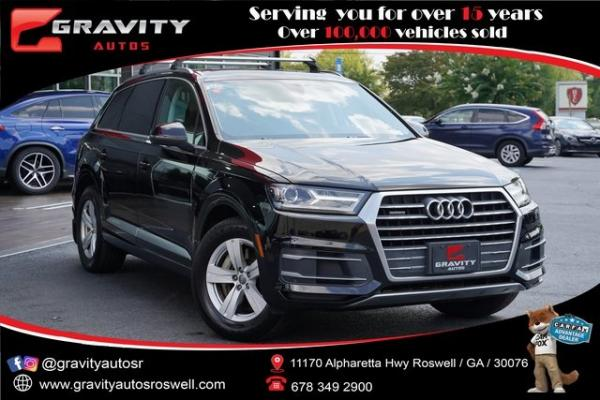 Used 2018 Audi Q7 2.0T Premium for sale $37,991 at Gravity Autos Roswell in Roswell GA