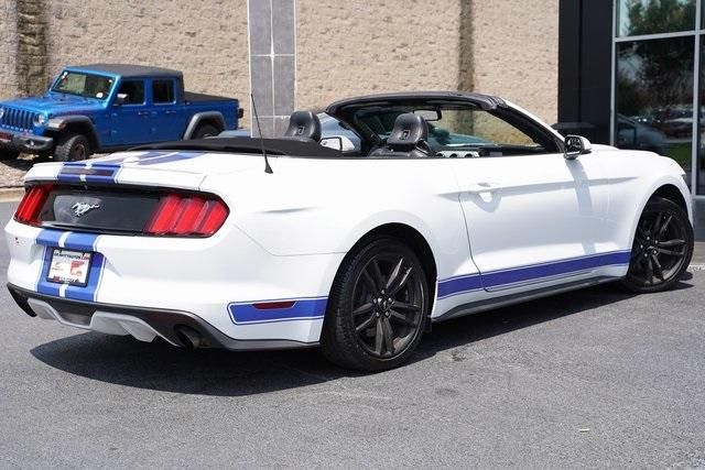 Used 2017 Ford Mustang EcoBoost Premium for sale $27,991 at Gravity Autos Roswell in Roswell GA 30076 14
