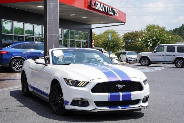 Used 2017 Ford Mustang EcoBoost Premium for sale $27,991 at Gravity Autos Roswell in Roswell GA 30076 2