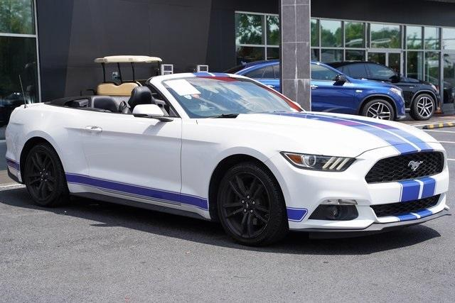 Used 2017 Ford Mustang EcoBoost Premium for sale $27,991 at Gravity Autos Roswell in Roswell GA 30076 7