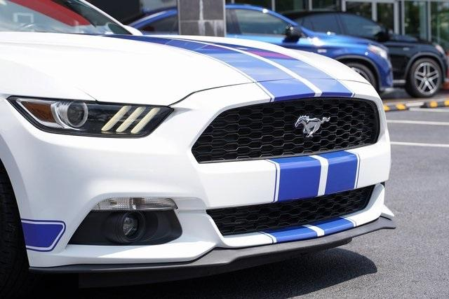 Used 2017 Ford Mustang EcoBoost Premium for sale $27,991 at Gravity Autos Roswell in Roswell GA 30076 9