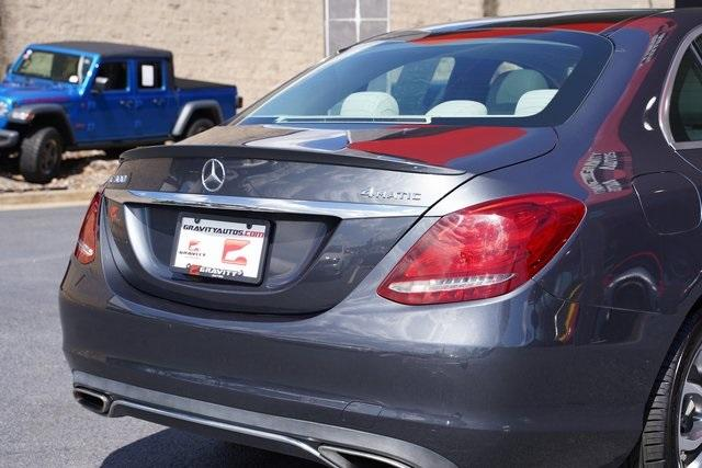 Used 2016 Mercedes-Benz C-Class C 300 for sale $26,991 at Gravity Autos Roswell in Roswell GA 30076 14