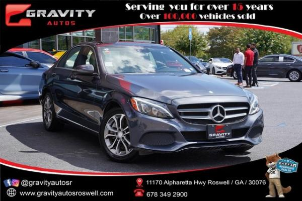 Used 2016 Mercedes-Benz C-Class C 300 for sale $26,991 at Gravity Autos Roswell in Roswell GA
