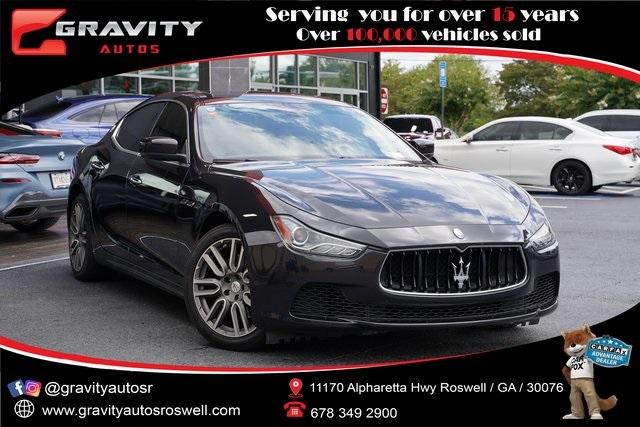 Used 2016 Maserati Ghibli Base for sale $36,991 at Gravity Autos Roswell in Roswell GA 30076 7