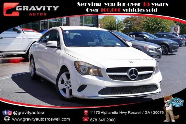 Used 2017 Mercedes-Benz CLA CLA 250 for sale $26,496 at Gravity Autos Roswell in Roswell GA
