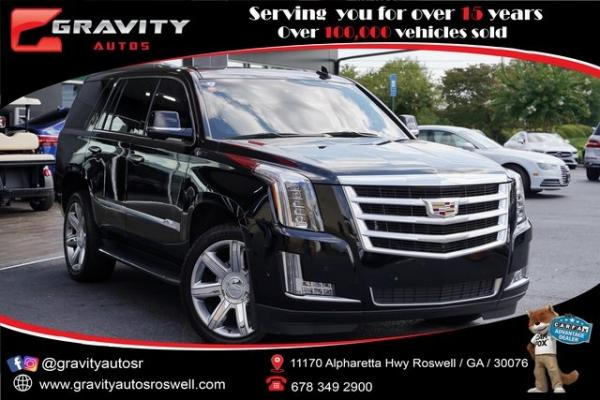 Used 2019 Cadillac Escalade Luxury for sale $60,696 at Gravity Autos Roswell in Roswell GA