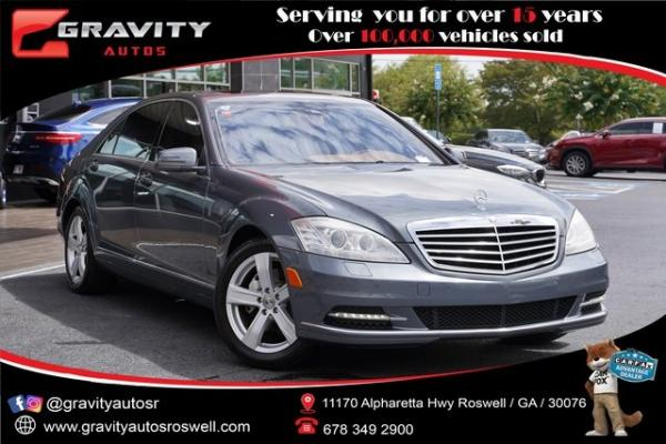 Used 2011 Mercedes-Benz S-Class S 550 for sale $21,992 at Gravity Autos Roswell in Roswell GA