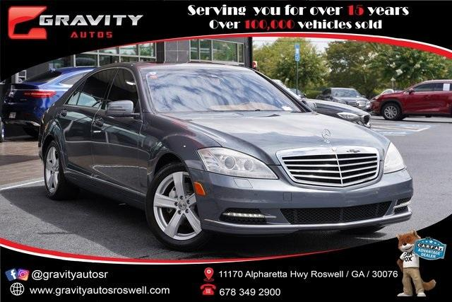 Used 2011 Mercedes-Benz S-Class S 550 for sale $21,992 at Gravity Autos Roswell in Roswell GA 30076 1