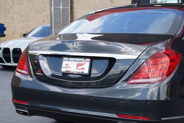 Used 2016 Mercedes-Benz S-Class S 550 for sale $53,991 at Gravity Autos Roswell in Roswell GA 30076 14