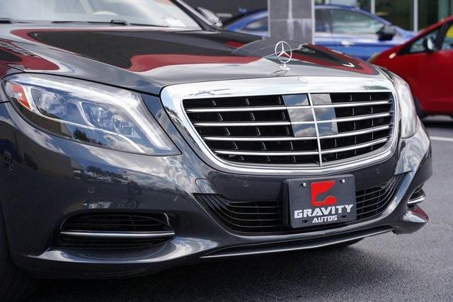 Used 2016 Mercedes-Benz S-Class S 550 for sale $53,991 at Gravity Autos Roswell in Roswell GA 30076 9