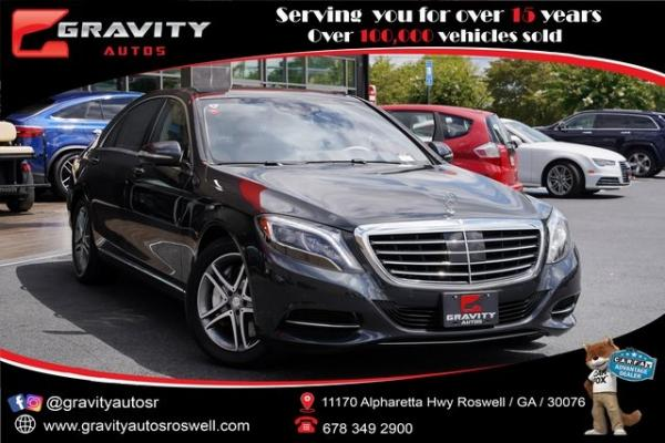 Used 2016 Mercedes-Benz S-Class S 550 for sale $53,991 at Gravity Autos Roswell in Roswell GA