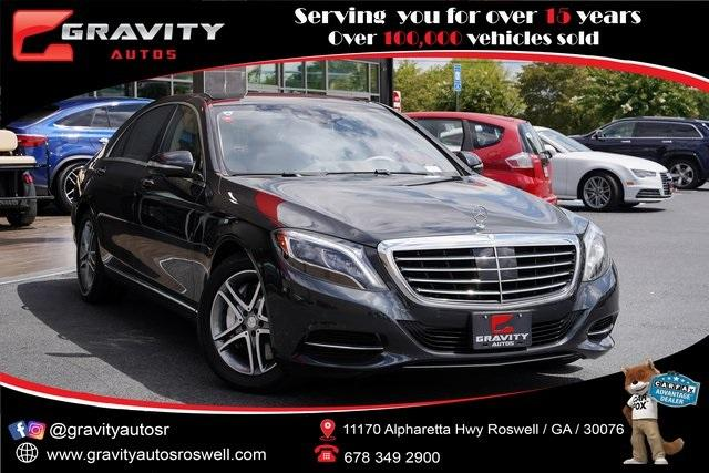 Used 2016 Mercedes-Benz S-Class S 550 for sale $53,991 at Gravity Autos Roswell in Roswell GA 30076 1