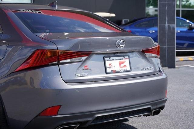 Used 2017 Lexus IS 200t for sale $31,991 at Gravity Autos Roswell in Roswell GA 30076 14