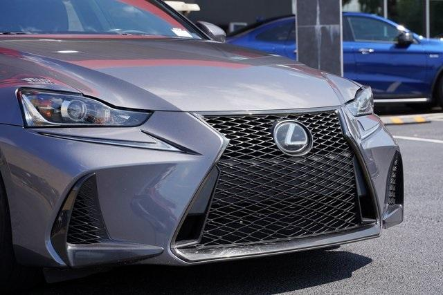Used 2017 Lexus IS 200t for sale $31,991 at Gravity Autos Roswell in Roswell GA 30076 9
