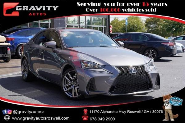Used 2017 Lexus IS 200t for sale $31,991 at Gravity Autos Roswell in Roswell GA