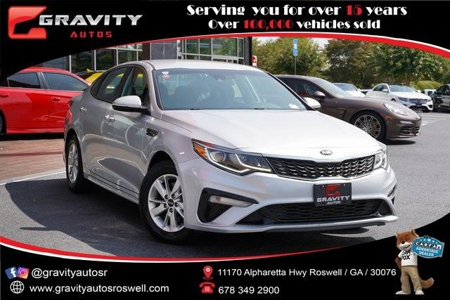 Used 2019 Kia Optima LX for sale $20,991 at Gravity Autos Roswell in Roswell GA 30076 1