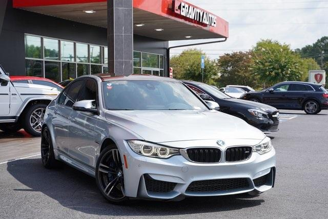 Used 2016 BMW M3 Base for sale $49,991 at Gravity Autos Roswell in Roswell GA 30076 2