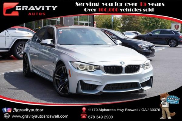 Used 2016 BMW M3 Base for sale $49,991 at Gravity Autos Roswell in Roswell GA
