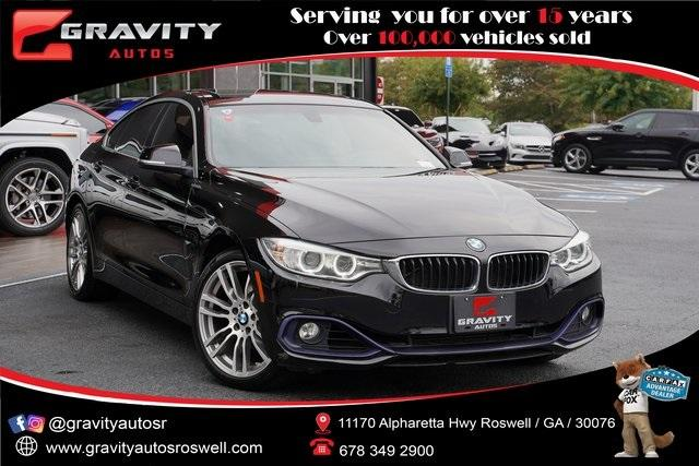 Used 2016 BMW 4 Series 428i xDrive Gran Coupe for sale $25,991 at Gravity Autos Roswell in Roswell GA 30076 1
