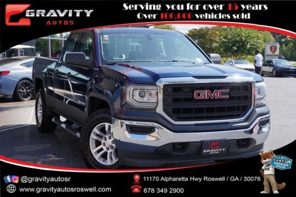Used 2016 GMC Sierra 1500 Base for sale $28,796 at Gravity Autos Roswell in Roswell GA
