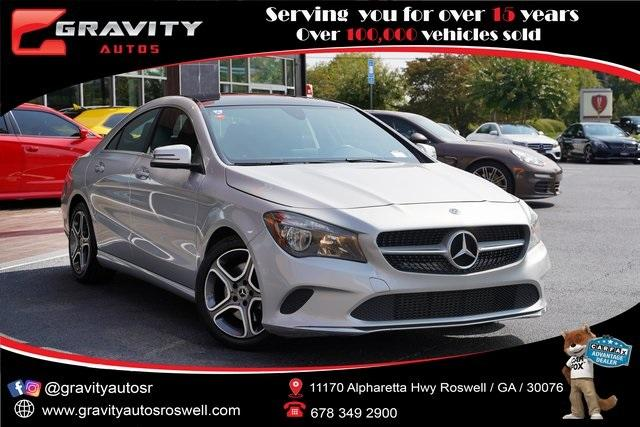 Used 2018 Mercedes-Benz CLA CLA 250 for sale $26,991 at Gravity Autos Roswell in Roswell GA 30076 1