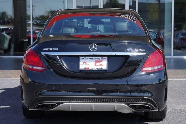 Used 2018 Mercedes-Benz C-Class C 43 AMG for sale $39,991 at Gravity Autos Roswell in Roswell GA 30076 12