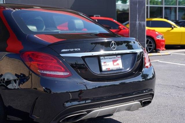 Used 2018 Mercedes-Benz C-Class C 43 AMG for sale $39,991 at Gravity Autos Roswell in Roswell GA 30076 14