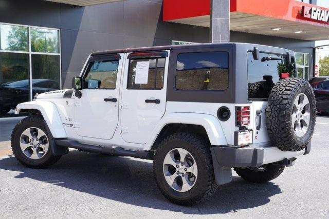 Used 2018 Jeep Wrangler JK Unlimited Sahara for sale $43,991 at Gravity Autos Roswell in Roswell GA 30076 12