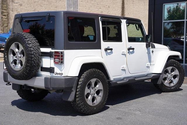 Used 2018 Jeep Wrangler JK Unlimited Sahara for sale $43,991 at Gravity Autos Roswell in Roswell GA 30076 14