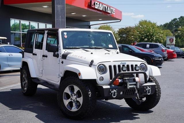 Used 2018 Jeep Wrangler JK Unlimited Sahara for sale $43,991 at Gravity Autos Roswell in Roswell GA 30076 2