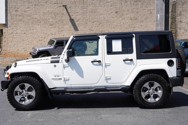 Used 2018 Jeep Wrangler JK Unlimited Sahara for sale $43,991 at Gravity Autos Roswell in Roswell GA 30076 4