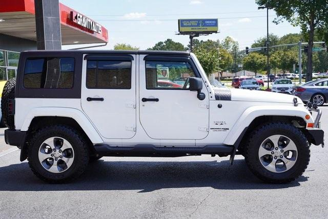 Used 2018 Jeep Wrangler JK Unlimited Sahara for sale $43,991 at Gravity Autos Roswell in Roswell GA 30076 8