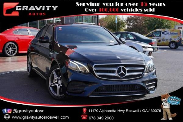 Used 2017 Mercedes-Benz E-Class E 300 for sale $33,991 at Gravity Autos Roswell in Roswell GA