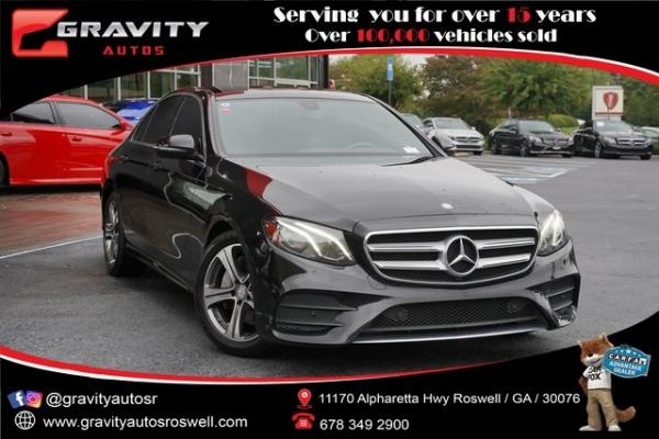 Used 2017 Mercedes-Benz E-Class E 300 for sale $32,496 at Gravity Autos Roswell in Roswell GA