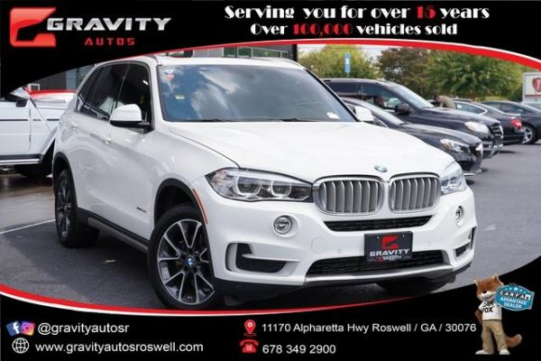 Used 2017 BMW X5 sDrive35i for sale $34,791 at Gravity Autos Roswell in Roswell GA
