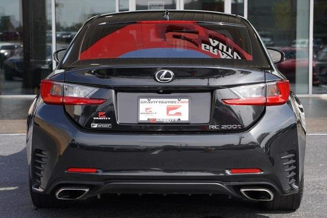 Used 2017 Lexus RC 200t for sale $34,991 at Gravity Autos Roswell in Roswell GA 30076 12