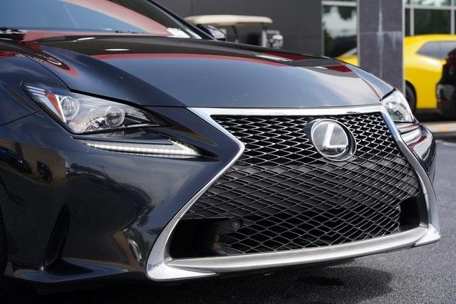 Used 2017 Lexus RC 200t for sale $34,991 at Gravity Autos Roswell in Roswell GA 30076 9
