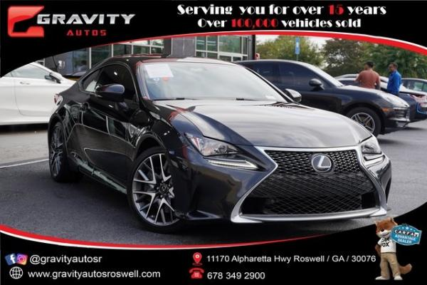 Used 2017 Lexus RC 200t for sale $34,796 at Gravity Autos Roswell in Roswell GA