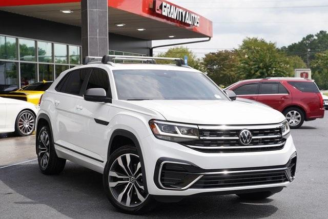 Used 2020 Volkswagen Atlas Cross Sport 3.6L V6 SEL R-Line for sale Sold at Gravity Autos Roswell in Roswell GA 30076 2
