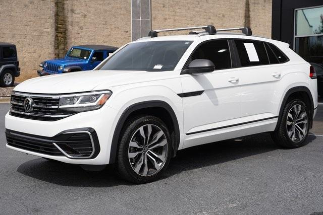 Used 2020 Volkswagen Atlas Cross Sport 3.6L V6 SEL R-Line for sale Sold at Gravity Autos Roswell in Roswell GA 30076 5