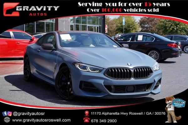 Used 2019 BMW 8 Series M850i xDrive for sale $93,992 at Gravity Autos Roswell in Roswell GA