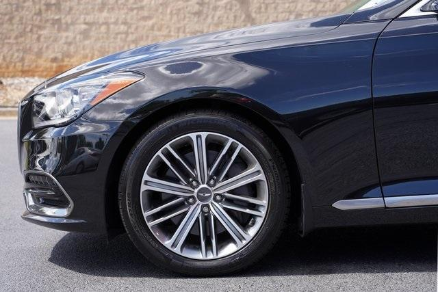 Used 2019 Genesis G80 3.8 for sale Sold at Gravity Autos Roswell in Roswell GA 30076 10