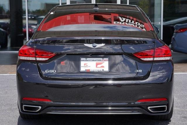 Used 2019 Genesis G80 3.8 for sale Sold at Gravity Autos Roswell in Roswell GA 30076 12