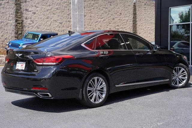 Used 2019 Genesis G80 3.8 for sale Sold at Gravity Autos Roswell in Roswell GA 30076 13