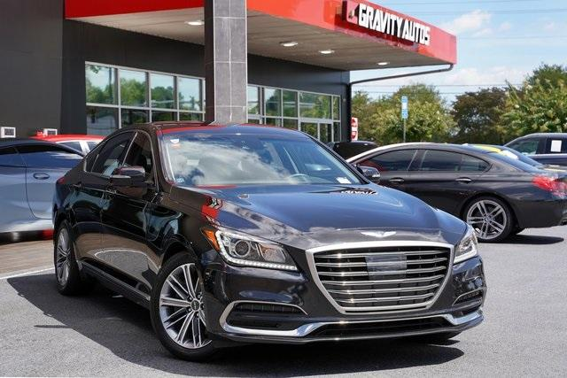 Used 2019 Genesis G80 3.8 for sale Sold at Gravity Autos Roswell in Roswell GA 30076 2